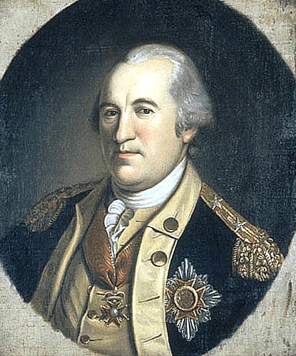 Baron Von Steuben Portrait