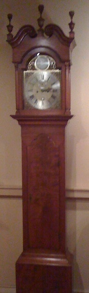 Benjamin Franklin's Tall Case Clock