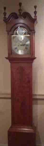 Benjamin Franklin's Tall Case Clock