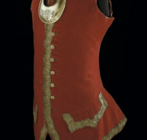 British Waistcoat and Gorget