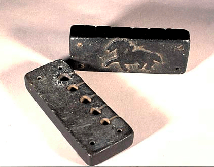 Soapstone Bullet Mold with Horse Image