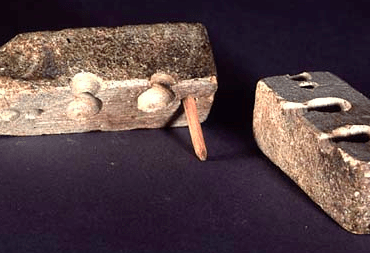 Soapstone Bullet Mold