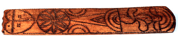 Wooden Busk