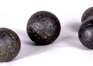 Cannon Balls of Various Sizes