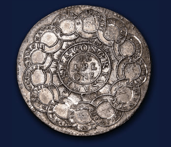 Pewter Continental Dollar - 1776
