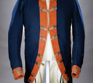 American Continental Army Uniform Coat