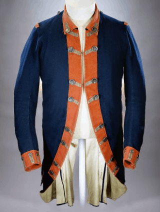 American Continental Army Uniform Coat