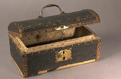 Wooden Document Box