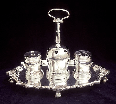 Silver Ink Stand - Used to Sign the Declaration of Independence