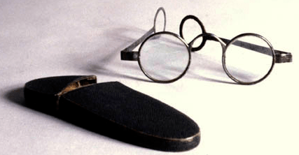 Steel Eyeglasses & Case