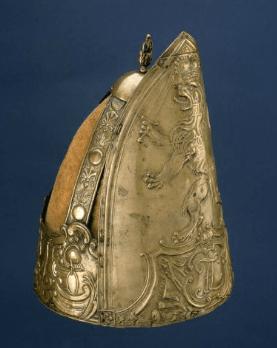 German Hessian Miter Cap