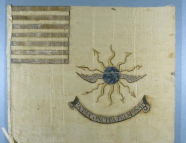 American Second Regiment of Continental Light Dragoons Guidon (Tallmadge's Dragoons)