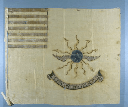 American Second Regiment of Continental Light Dragoons Guidon (Tallmadge's Dragoons)