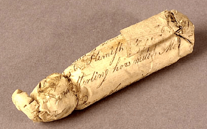 Musket Cartridge
