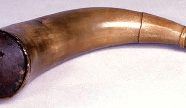 Powder Horn Marked VE 1779