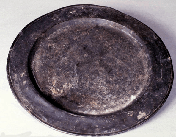 Pewter Serving Plate