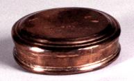 Copper Snuff Box