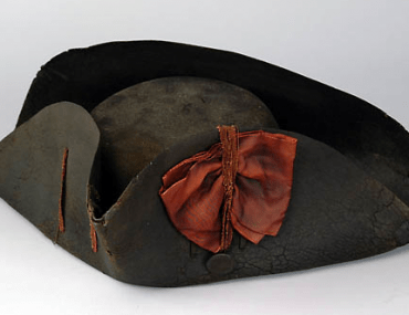 Tricorne Hat with Red Cockade