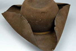 Brown Tricorne Hat