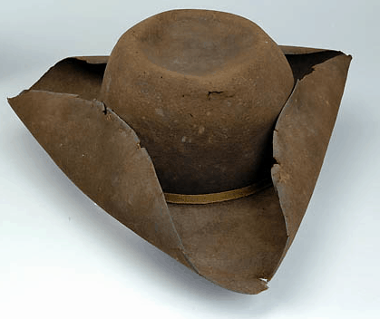 Brown Tricorne Hat