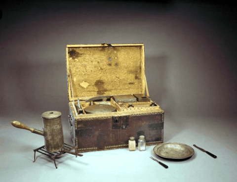 George Washington's Camp Chest