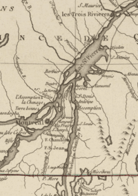 Richelieu Valley lThree Rivers 1777