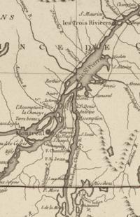 Richelieu Valley lThree Rivers 1777