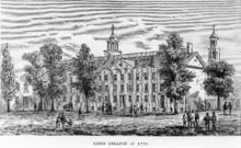 King's College Hall – 1770
