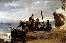 Plymouth Colony Landing