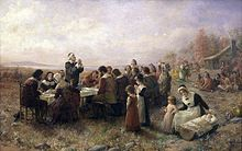 First Thanksgiving in Plymouth