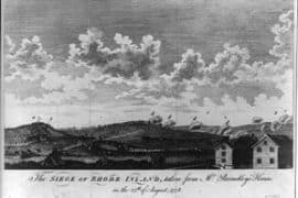 Battle of Rhode Island
