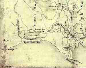 Eastern Virginia 1775