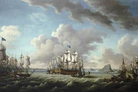 Battle of Cape Spartel in 1782
