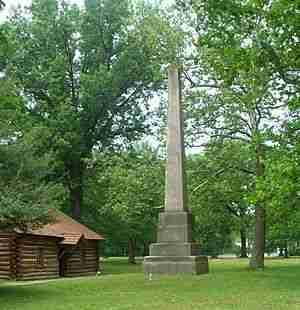 Gnadenhutten Monument