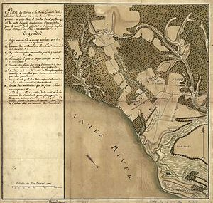 James River Map