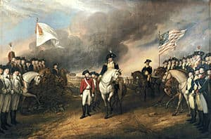 Surrender of Conwallis at Yorktown