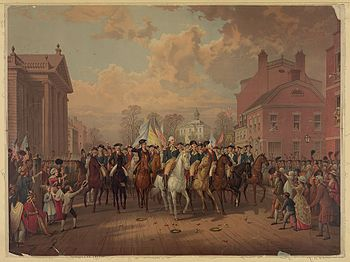 Evacuation Day in New York