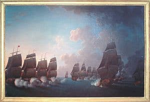 Battle of Martinique