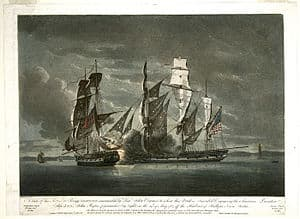 Battle off Halifax in 1782