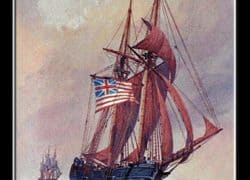 Revolutionary War Naval Battle
