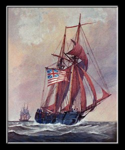 Revolutionary War Naval Battle
