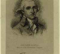 Benjamin Contee – Continental Army Officer – Maryland