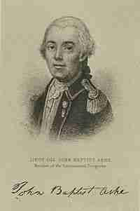 John Baptista Ashe – Continental Congressman – North Carolina