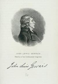 John Lewis Gervais – Continental Congressman – South Carolina