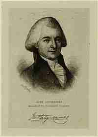 John Sitgreaves – Continental Congressman – North Carolina