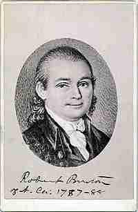 Robert Burton – Continental Congressman – North Carolina