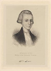 William Duer – Continental Congressman – New York