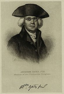 Abraham Yates, Jr. – Continental Congressman – New York