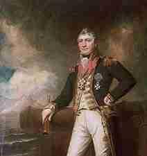 David Milne of the British Royal Navy
