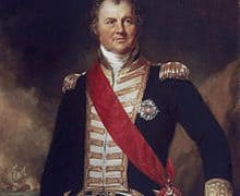 Edward Thornbrough of the British Royal Navy
